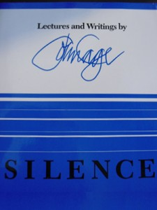 Silence: Lectures and Writings of John Cage